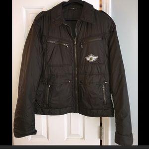 Dolce & Gabbana Men's Black Down Bomber Jacket